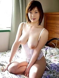 sexy asian beuuty with monster tits